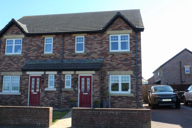 Thumbnail Semi-detached house for sale in Woodville Way, Whitehaven