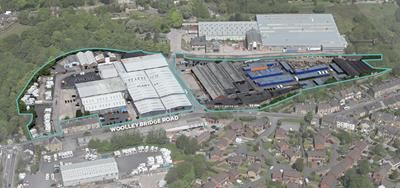 Thumbnail Commercial property for sale in Etherow Industrial Estate, Woolley Bridge Road, Glossop, Derbyshire