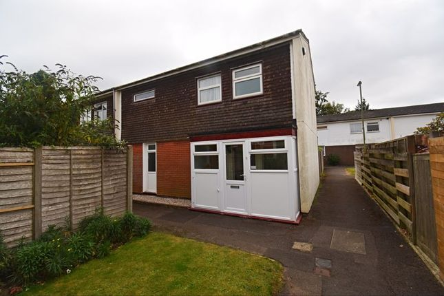 3 bed semi-detached house to rent in Brocas Drive, Basingstoke RG21