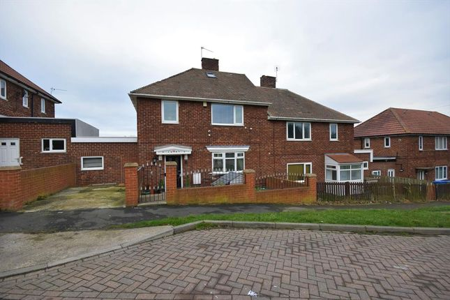 Thumbnail Semi-detached house for sale in Cook Grove, Horden, County Durham