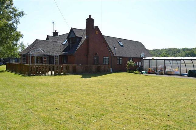 Thumbnail Detached bungalow for sale in Leek Brook Junction, Leek