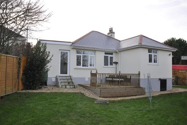 Thumbnail Detached bungalow for sale in Parkside Road, Pinhoe, Exeter