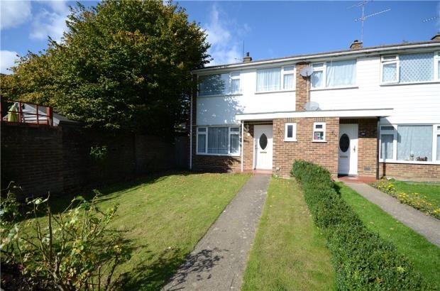 Thumbnail End terrace house for sale in Sunnybank Road, Farnborough, Hampshire