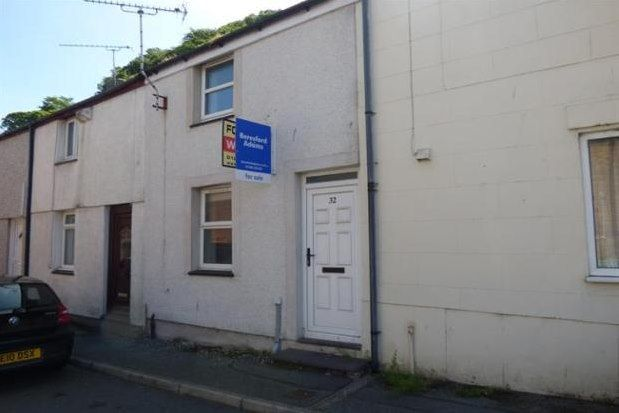 Thumbnail Terraced house to rent in Mount Street, Bangor