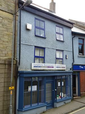 Thumbnail Restaurant/cafe for sale in Langmans Restaurant, 3 Church Street, Callington