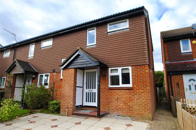Thumbnail End terrace house to rent in Oak Green Way, Abbots Langley