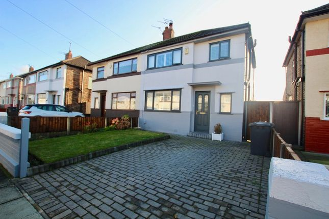 Thumbnail Semi-detached house for sale in Linden Avenue, Liverpool