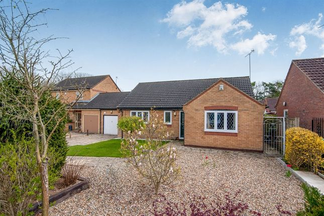 Thumbnail Detached bungalow for sale in Bracken Rise, Mundford, Thetford