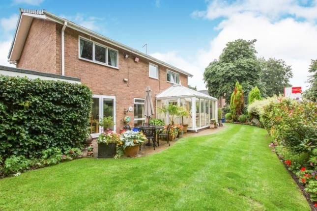 Thumbnail Detached house for sale in The Gables, Alsager, Stoke-On-Trent, Cheshire