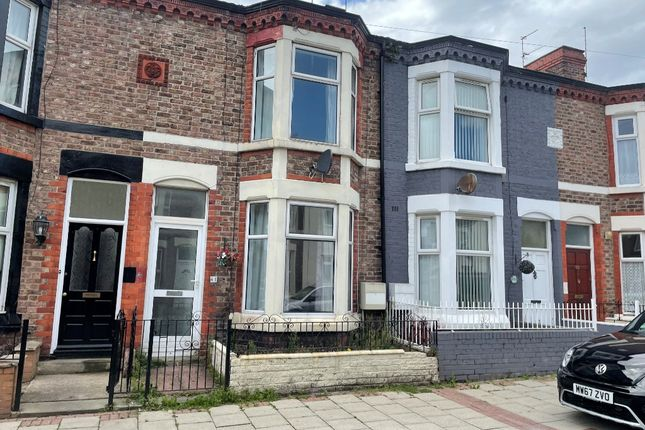 Thumbnail Terraced house to rent in Lea Road, Wallasey, Wirral
