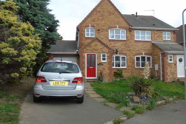 Thumbnail Semi-detached house for sale in Lavant Road, Stone Cross, Pevensey