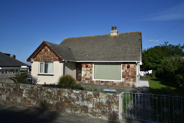 Thumbnail Detached bungalow for sale in Killivose Road, Camborne