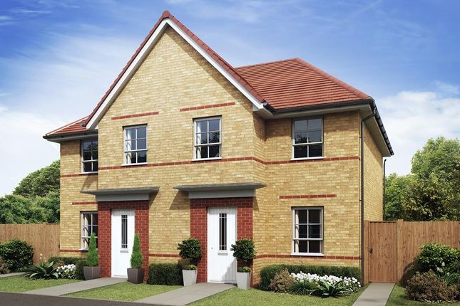"End terrace house for sale in ""Palmerston"" at Rosedale, Spennymoor"