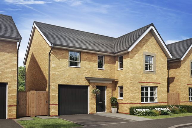 "Thumbnail Detached house for sale in ""Halton"" at Station Road, Methley, Leeds"