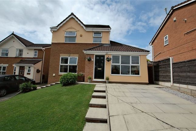 Thumbnail Detached house for sale in Chestnut Fold, Radcliffe, Manchester