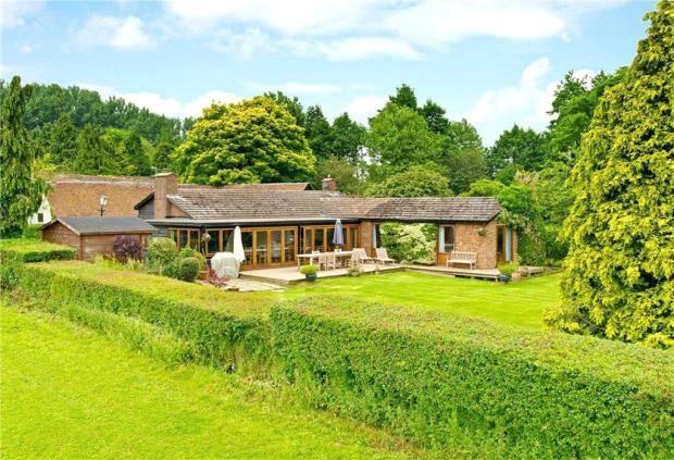 Thumbnail Detached bungalow to rent in Lower Church Farm, Church Lane, Mursley