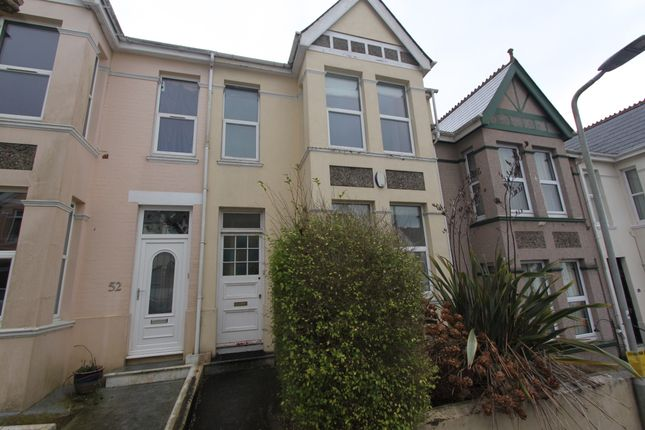 3 bed terraced house to rent in Bickham Park Road, Plymouth