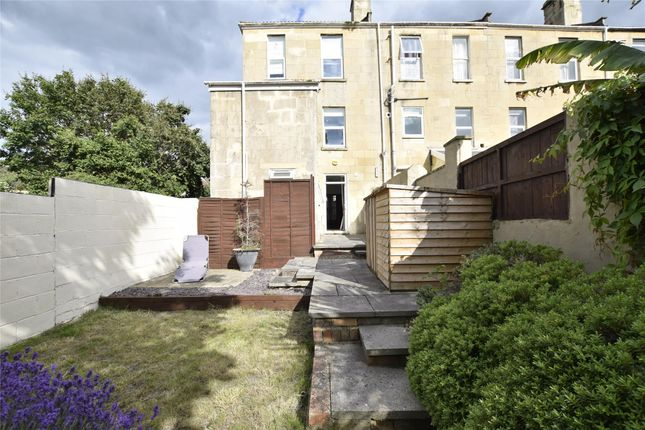 Thumbnail Flat for sale in Garden Flat, Victoria Terrace, Bath, Somerset