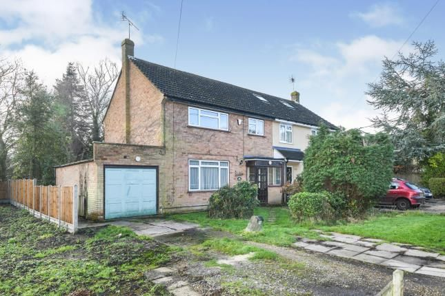 Thumbnail Semi-detached house for sale in Kelvedon Hatch, Brentwood, Essex
