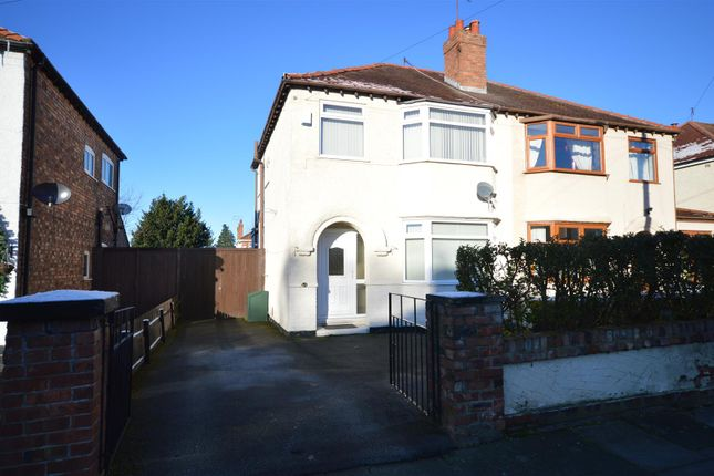 Thumbnail Semi-detached house to rent in Cambridge Road, Bromborough, Wirral