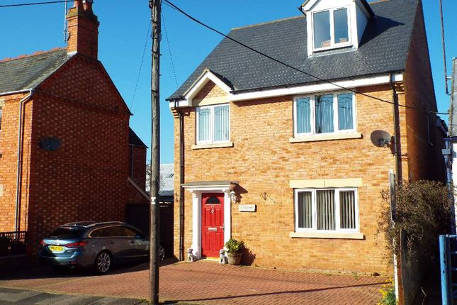 Thumbnail Detached house for sale in Eastfield Road, Wollaston, Northamptonshire