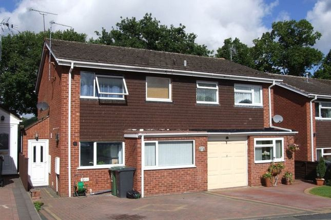 Thumbnail Semi-detached house to rent in Milcote Close, Redditch