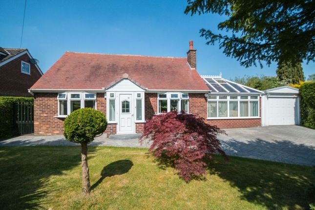 Thumbnail Detached bungalow for sale in Ridgeway Road, Timperley, Altrincham