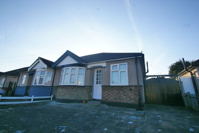 Thumbnail Semi-detached bungalow to rent in Chelmsford Drive, Upminster