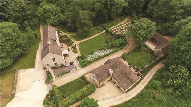 Thumbnail Detached house for sale in Washbrook Farm, Edge Road, Painswick, Stroud, Glos