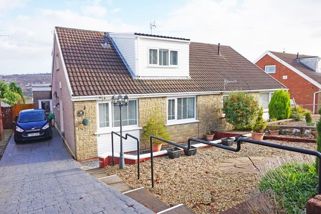 Thumbnail Semi-detached bungalow for sale in Forest Avenue, Cefn Hengoed