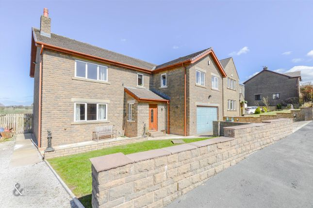 Thumbnail Detached house for sale in Stirling Court, Briercliffe, Burnley