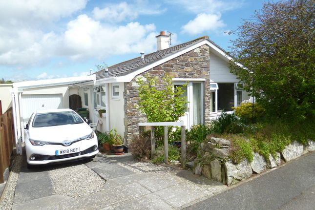 Thumbnail Detached bungalow for sale in Reens Road, Heamoor, Penzance