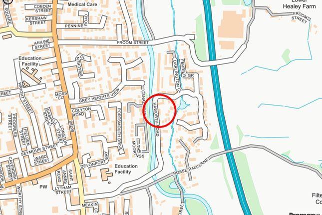 Local Map of Haworth Road, Chorley, Lancashire PR6