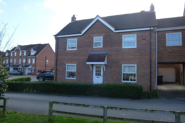 Thumbnail Detached house for sale in The Rowans, Gainsborough, Gainsborough