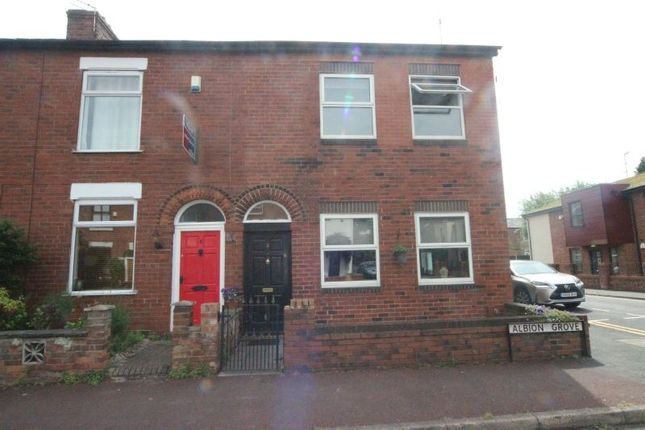 Thumbnail End terrace house for sale in Albion Grove, Sale