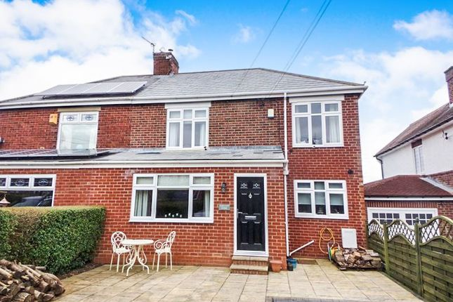 Thumbnail Semi-detached house for sale in Nedderton Village, Bedlington