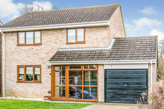 Thumbnail Detached house for sale in Briar Close, Lowestoft