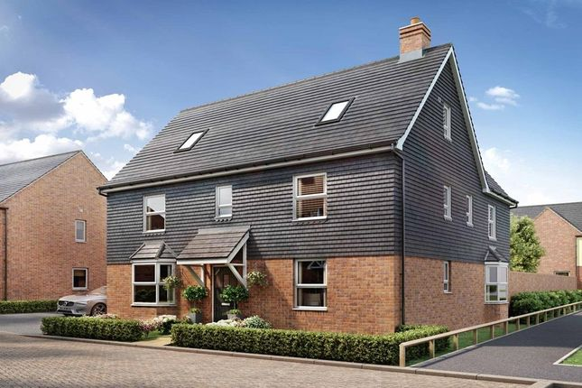 "Thumbnail Detached house for sale in ""Moorecroft"" at Broughton Crossing, Broughton, Aylesbury"