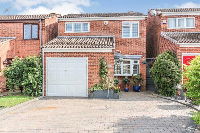 Thumbnail Detached house for sale in Burrow Hill Close, Castle Bromwich, Birmingham