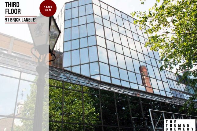Thumbnail Office to let in Brick Lane, London