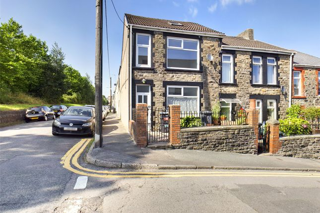 Thumbnail End terrace house for sale in Beulah Place, Ebbw Vale, Gwent