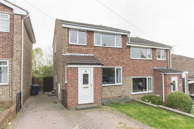 Thumbnail Semi-detached house for sale in Fallowfield Road, New Whittington, Chesterfield