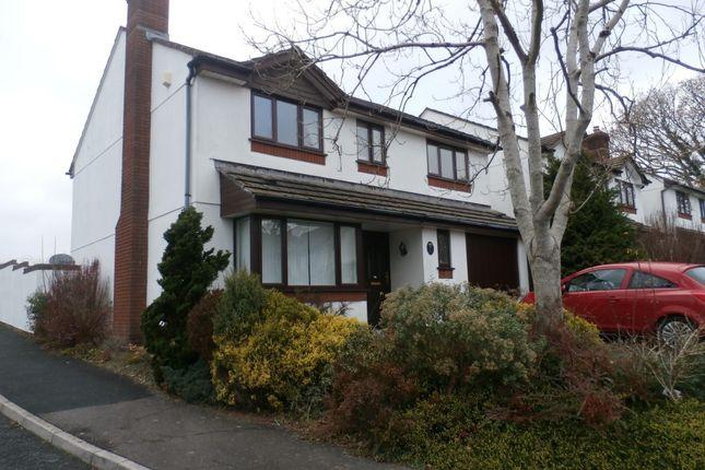 Thumbnail Detached house to rent in Tremayne Rise, Tavistock