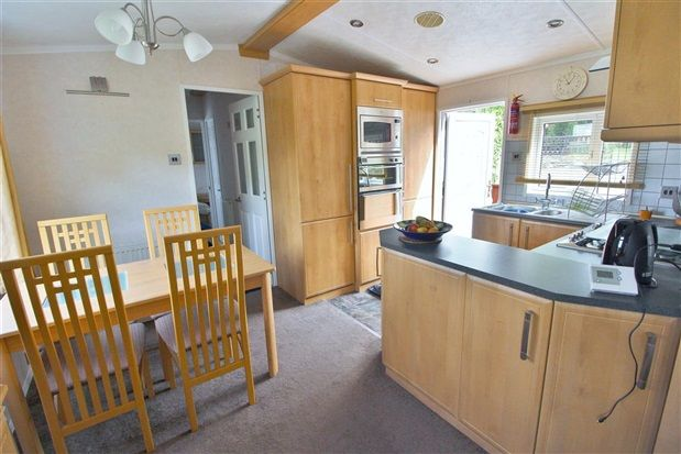 Kitchen of Castle View, Carnforth LA6