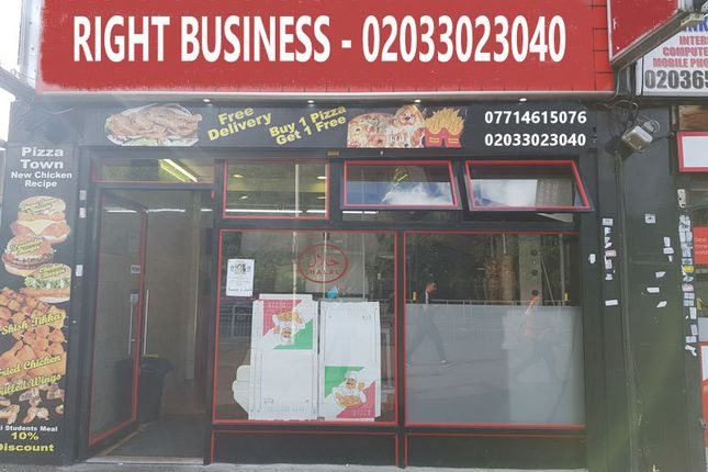 Thumbnail Restaurant/cafe for sale in Longbridge Road, Barking. Essex