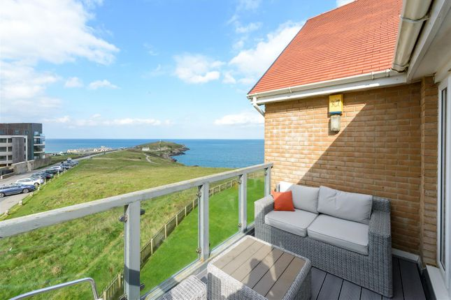 Thumbnail Flat for sale in Headland Road, Newquay