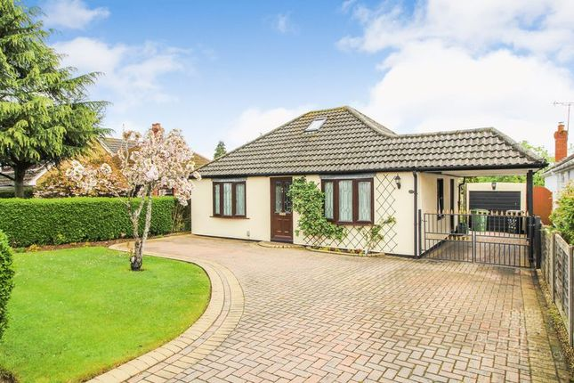 Thumbnail Detached bungalow for sale in Gordon Road, Henwick, Thatcham