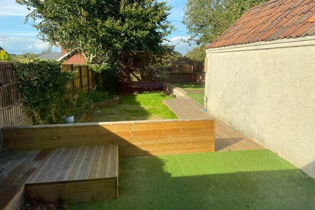 Garden of Luckington Road, Southmead, Bristol BS7