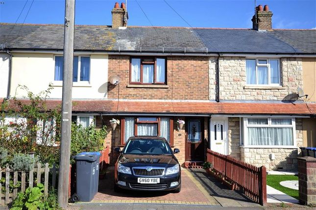 Thumbnail Terraced house for sale in Leigh Road, Broadwater, Worthing, West Sussex