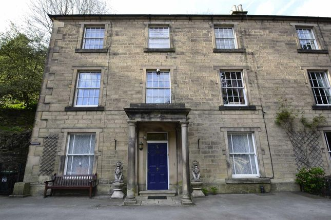 Thumbnail Town house for sale in North Parade, Matlock Bath, Matlock